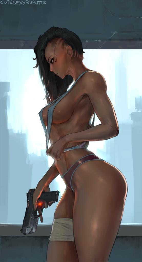 Cutesexyrobutts - Sexy V Cyberpunk 2077 porn hentai