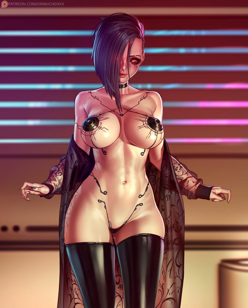 xxNikichenxx - Nude V Cyberpunk 2077 porn hentai 2