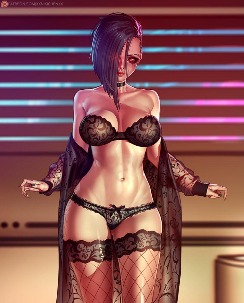 xxNikichenxx - Nude V Cyberpunk 2077 porn hentai 3