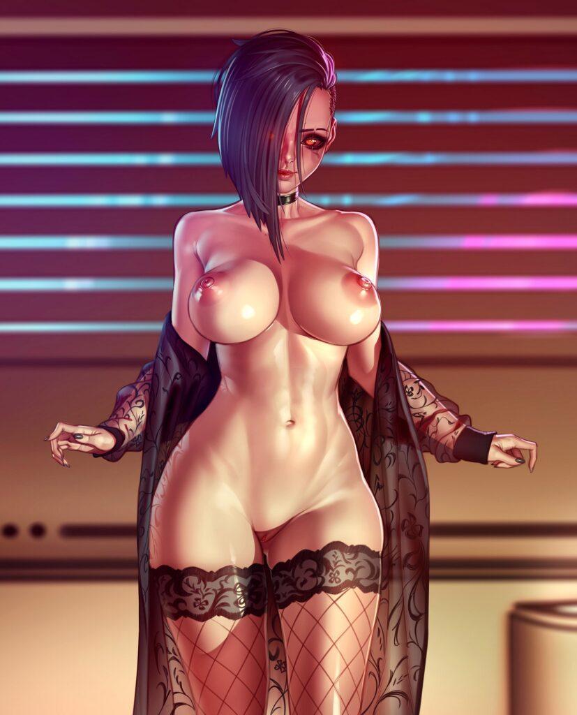 xxNikichenxx - Nude V Cyberpunk 2077 porn hentai 1