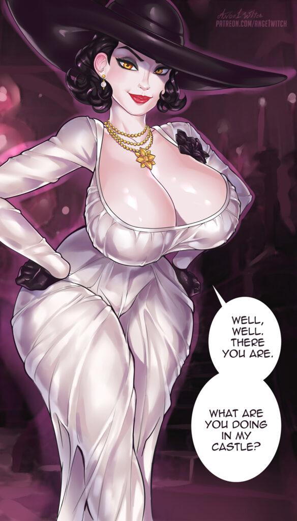 Ange1witch - Alcina Dimitrescu Resident Evil 8 Village Porn 0