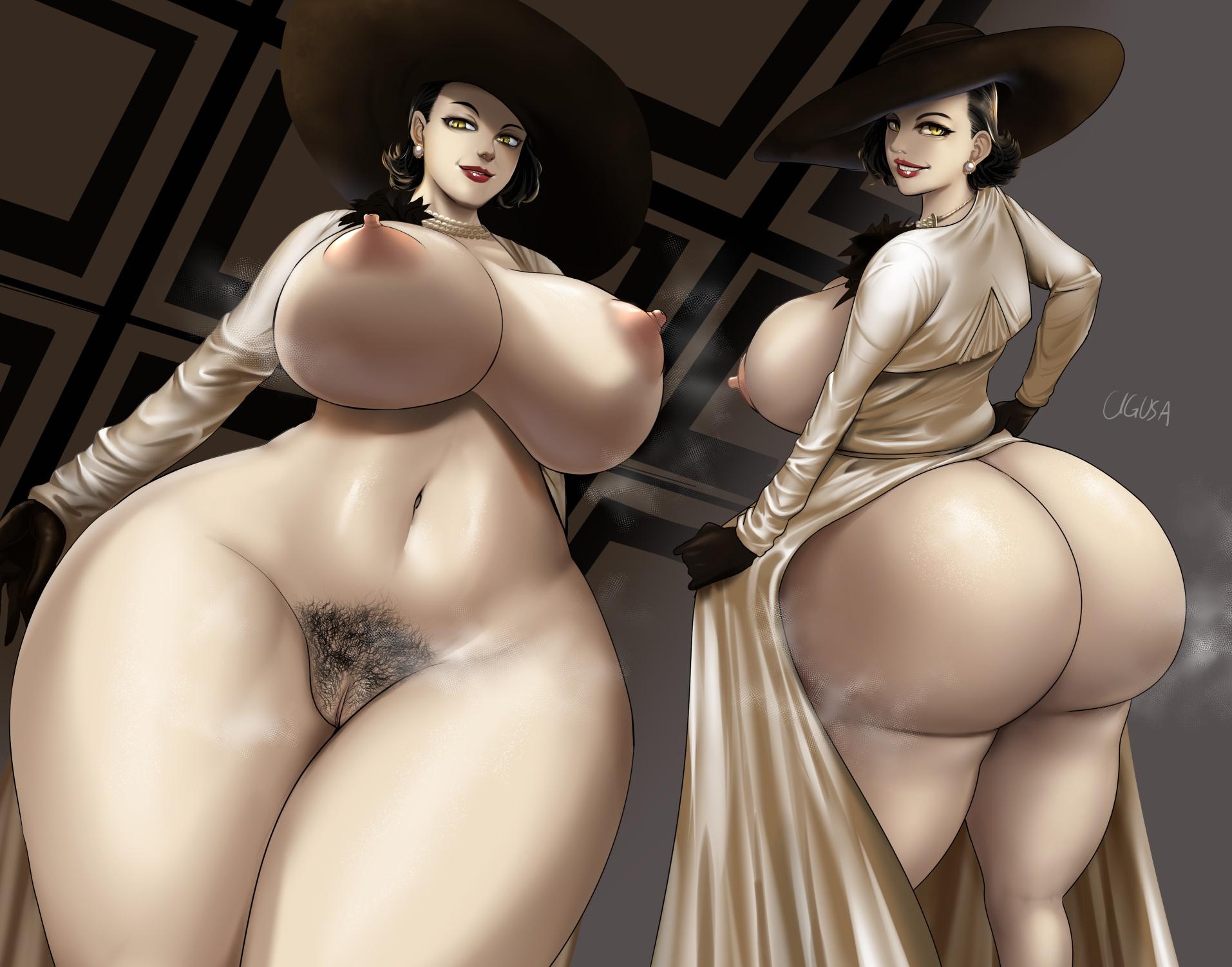 Chigusa - Alcina Dimitrescu Resident Evil 8 Village Porn