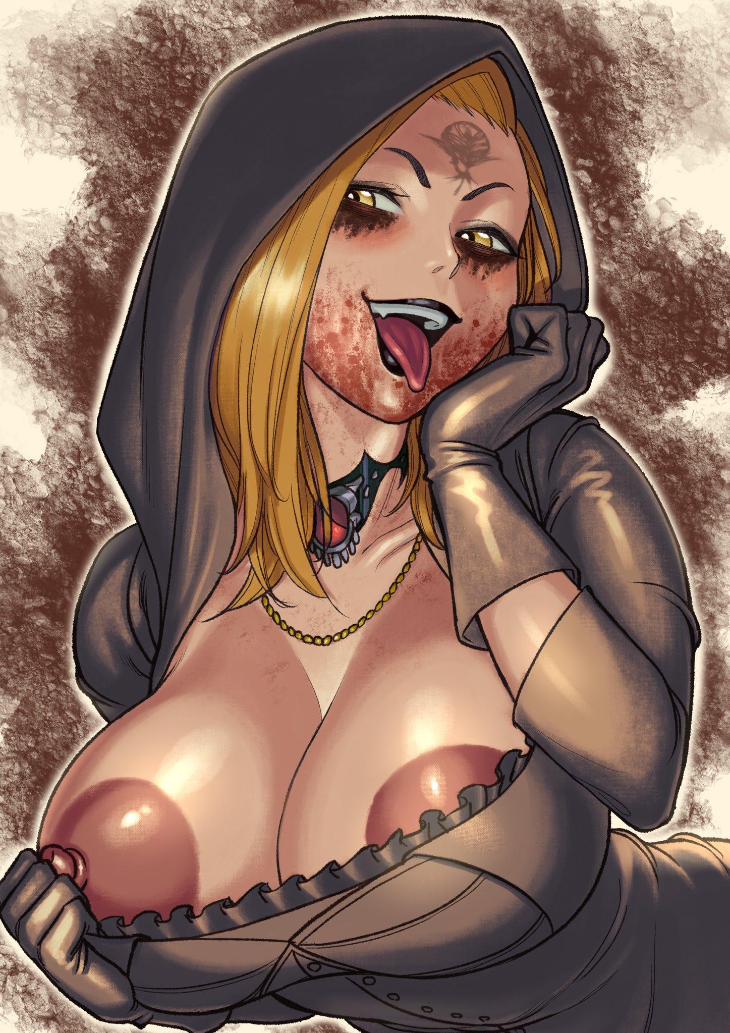 Guuerosu - Daniela Resident Evil 8 Village Porn