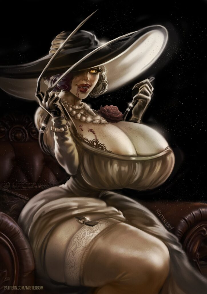 Mister69m - Alcina Dimitrescu Resident Evil 8 Village Porn 0