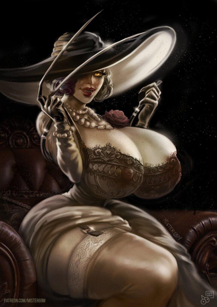 Mister69m - Alcina Dimitrescu Resident Evil 8 Village Porn 1