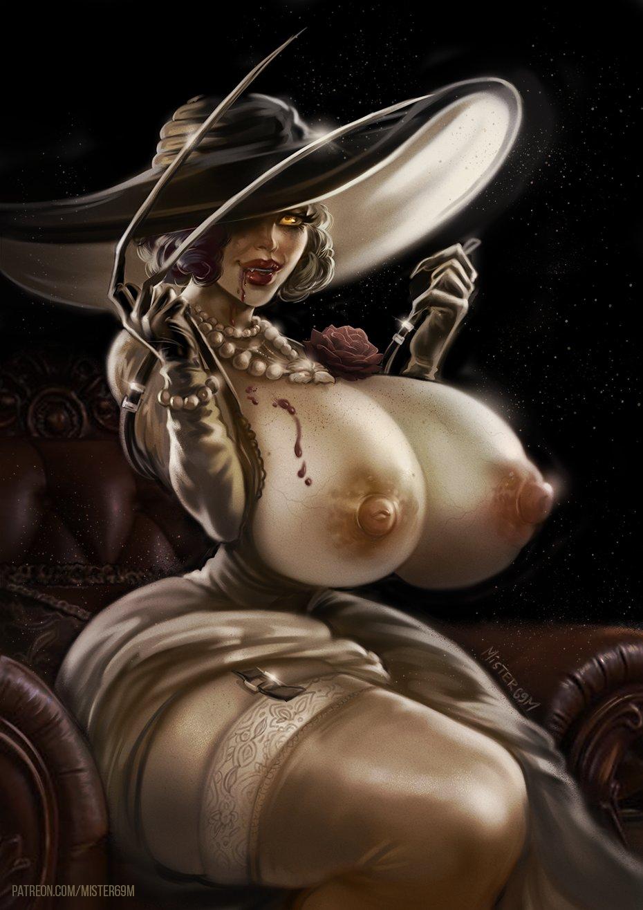 Mister69m - Alcina Dimitrescu Resident Evil 8 Village Porn 3