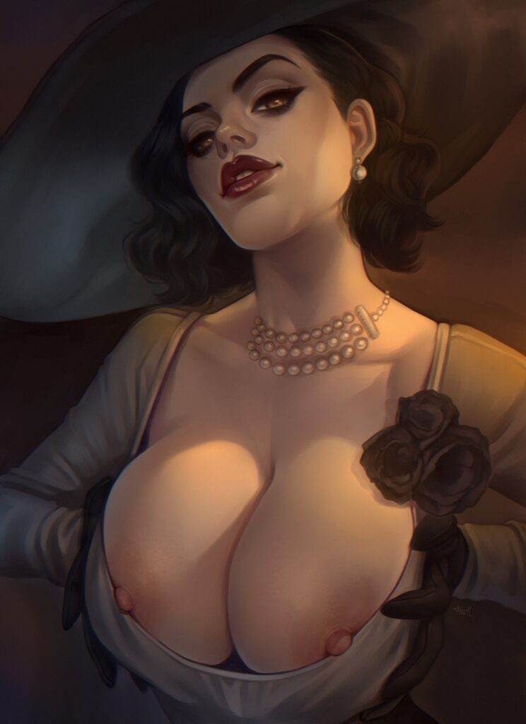 Othalam - Alcina Dimitrescu Resident Evil 8 Village Porn