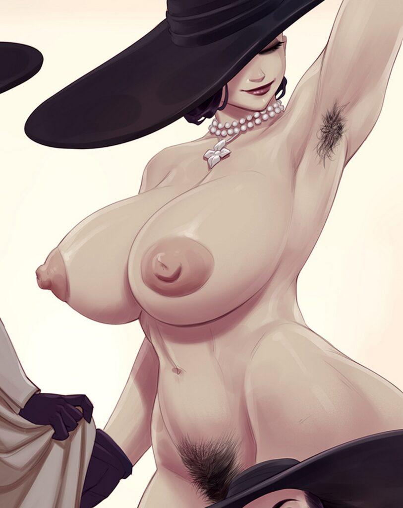 Rino99 - Alcina Dimitrescu Resident Evil 8 Village Porn 3