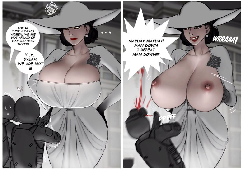 Scarlett Ann - Alcina Dimitrescu Resident Evil 8 Village Porn