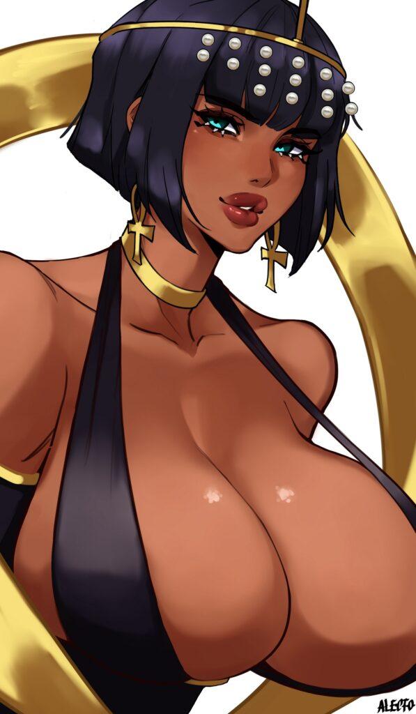 Alecto 0 - Busty Eliza from skullgirls porn