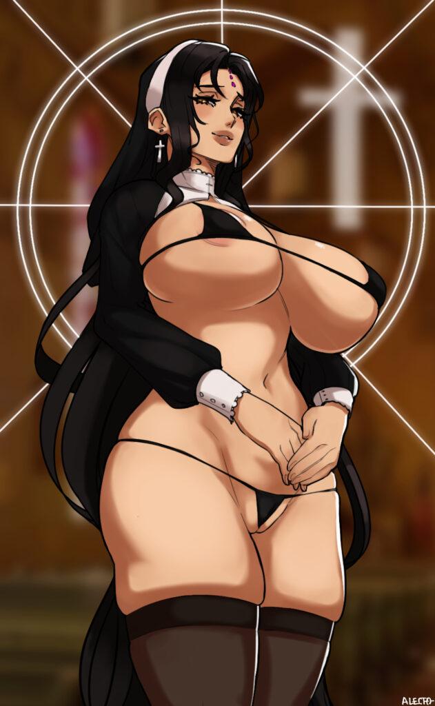 Alecto 0 - Milf nun sesshouin kiara from fate extra hentai porn 1