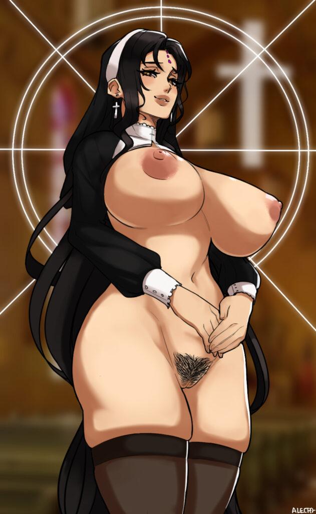 Alecto 0 - Milf nun sesshouin kiara from fate extra hentai porn 2