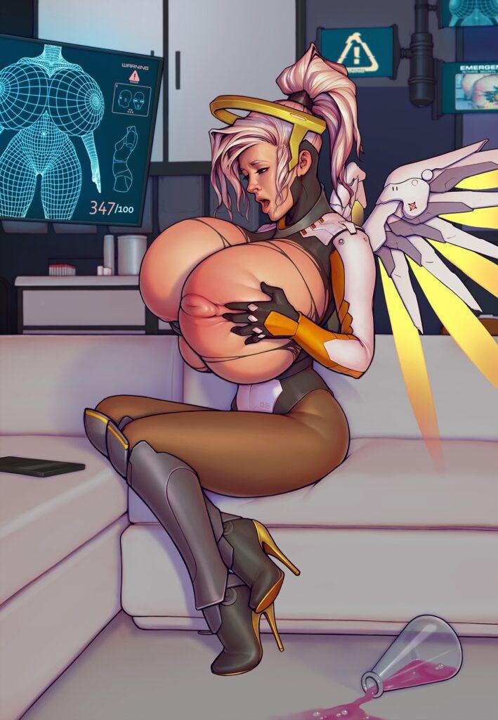 Tits overwatch Overwatch Mercy