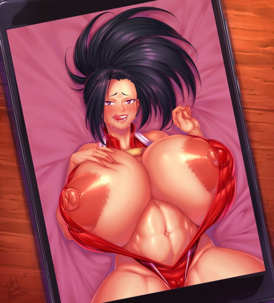 Captainjerkpants - Thick slutty Momo Yaoyorozu my hero academia porn 1