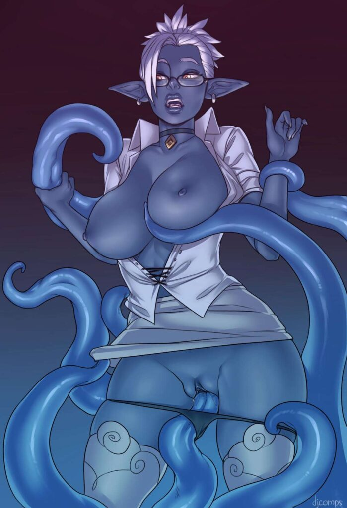 DJComps - Dark Elf Tentacle Rape hentai porn