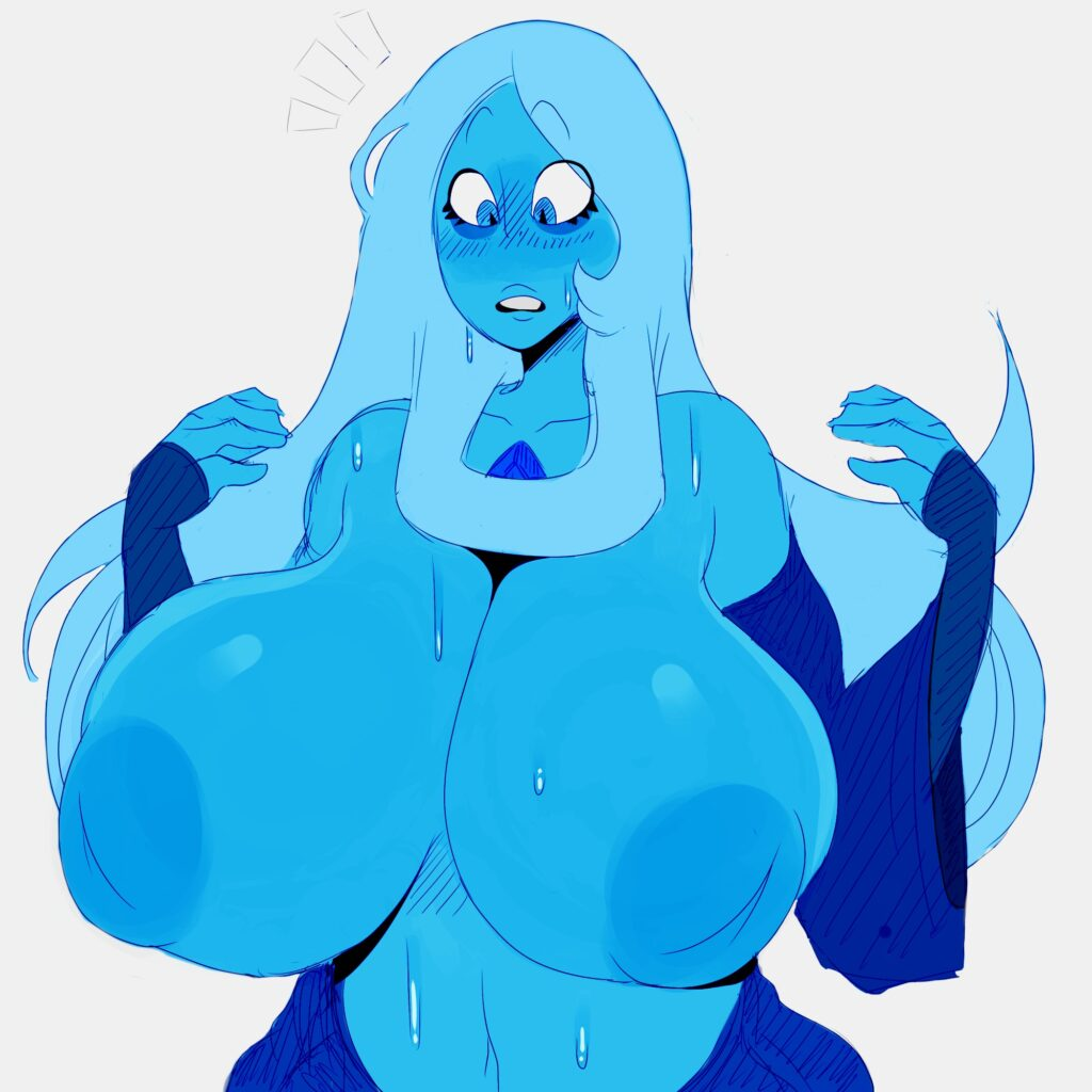 Detnox - Busty Blue Diamond Steven Universe hentai porn