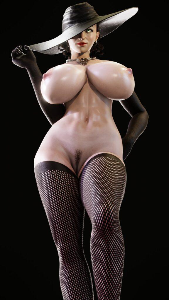 Kruel-Kaiser Alcina Dimitrescu Resident Evil 8 Village Porn 2
