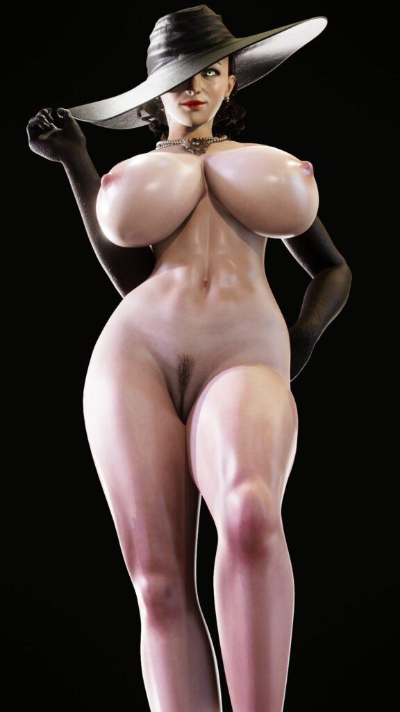 Kruel-Kaiser Alcina Dimitrescu Resident Evil 8 Village Porn