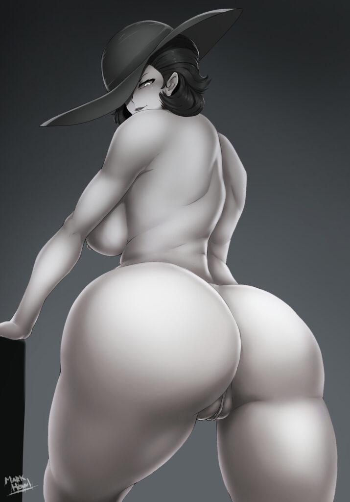 Markhowl - Alcina Dimitrescu Big Vampire Lady rule 34 hentai porn