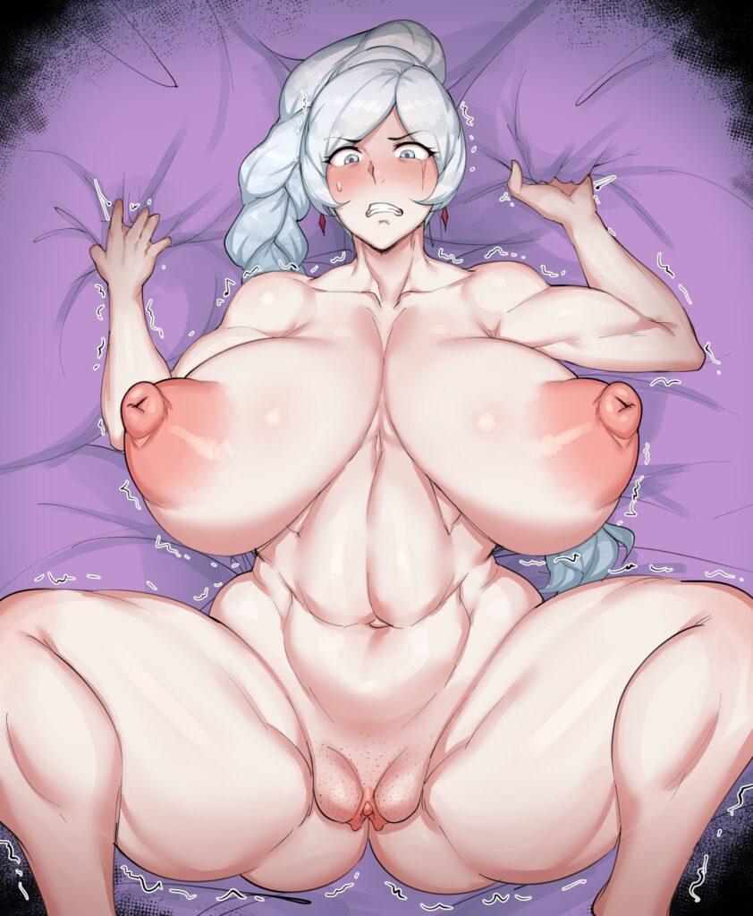 Natedecock - Bbw and muscular Weiss Schnee rwby porn 1