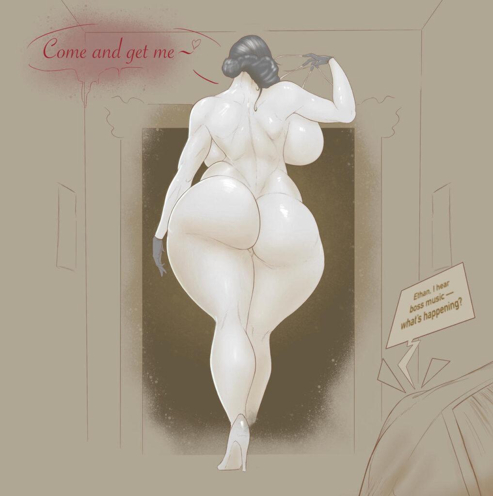 Quadratouring - Alcina Dimitrescu Big Vampire Lady rule 34 hentai porn 3
