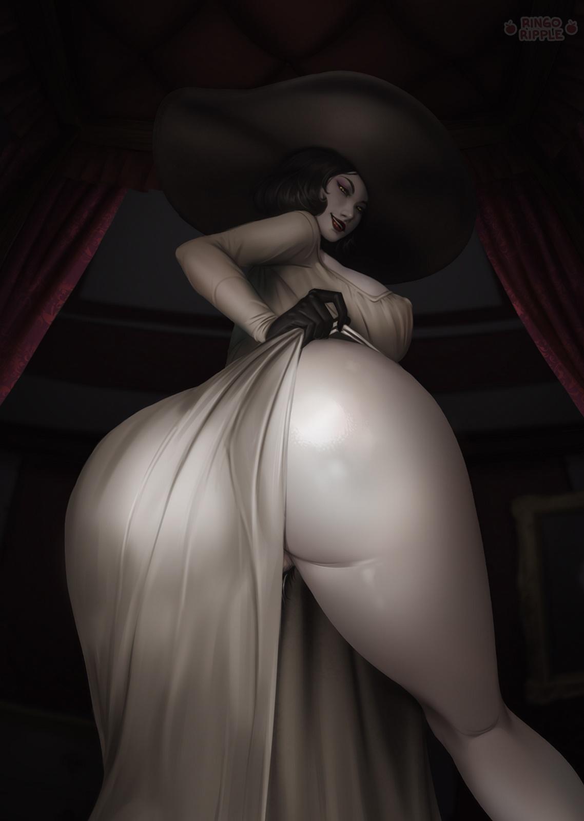 Ringoripple - Alcina Dimitrescu Resident Evil 8 Village Porn