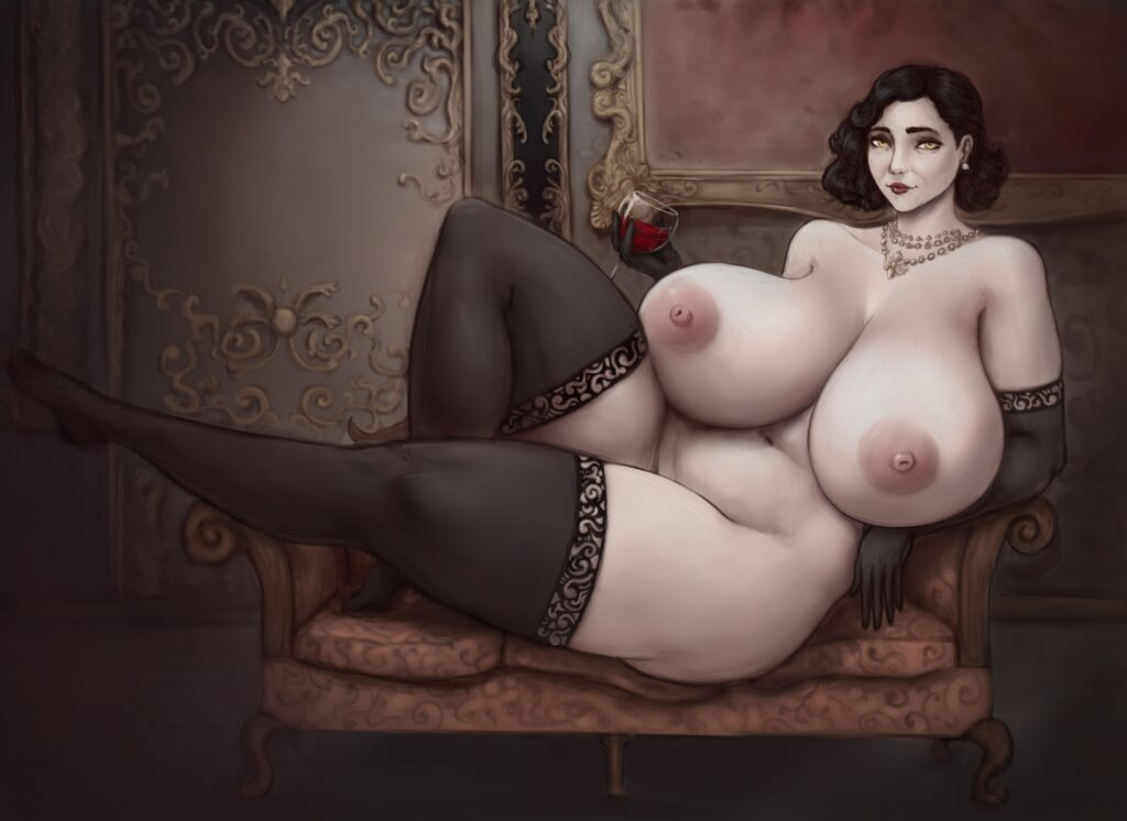 Shinyglute - Alcina Dimitrescu Resident Evil 8 Village Porn