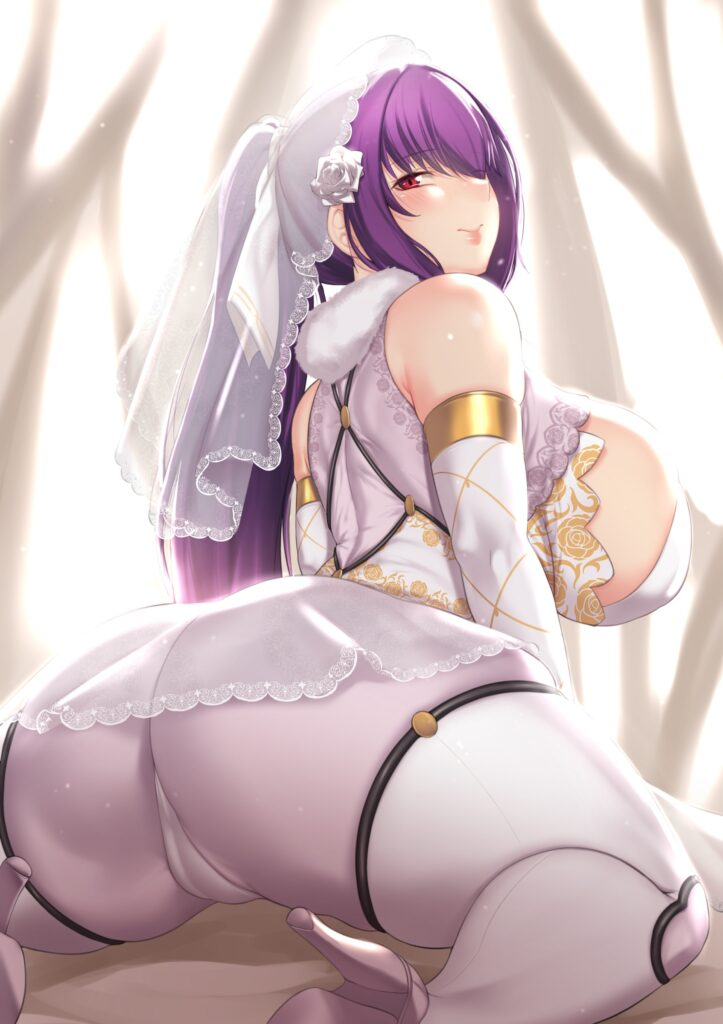 Aster Crowley - Thick Scathach Skadi Fate Grand Order porn 1